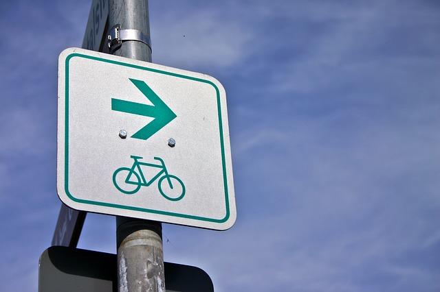 značka cyklostezka