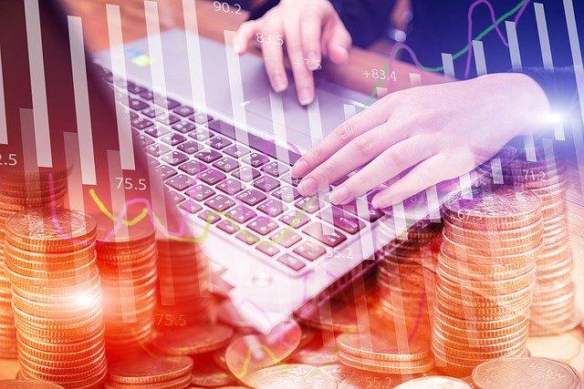 počítač a peníze